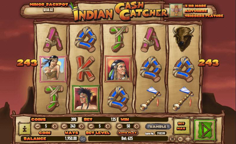Indian Cash Catcher slot